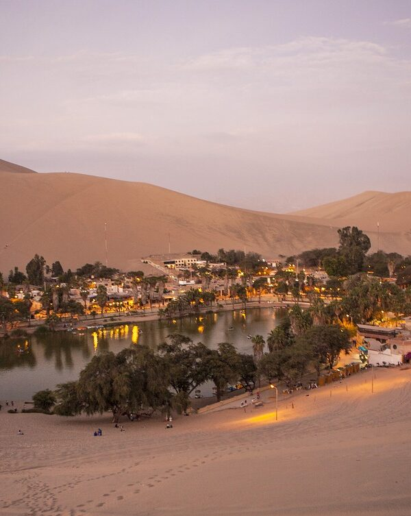 A village in the middle of the desert is said to have been born with a girl in tears