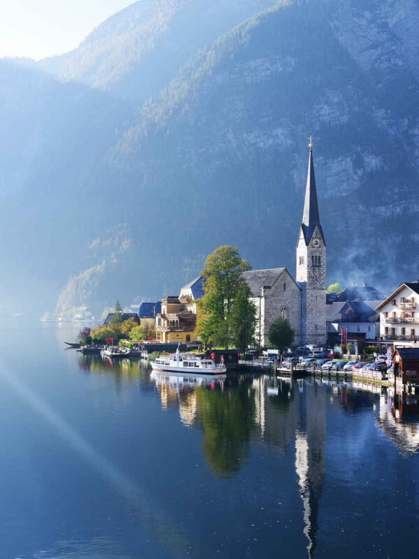 The most beautiful lakes in Austria