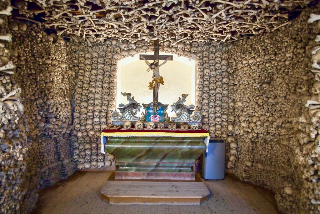 Skull Chapel in Czermna