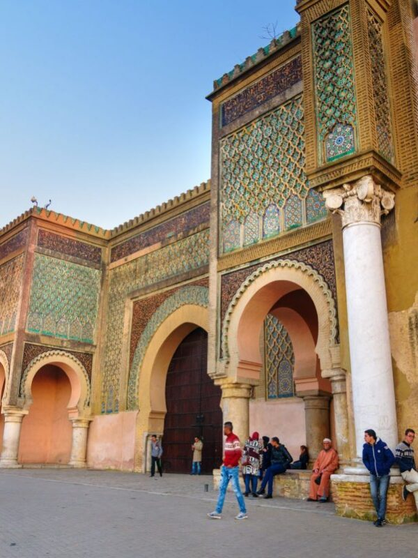 Tourist Attractions in Meknes, Morocco