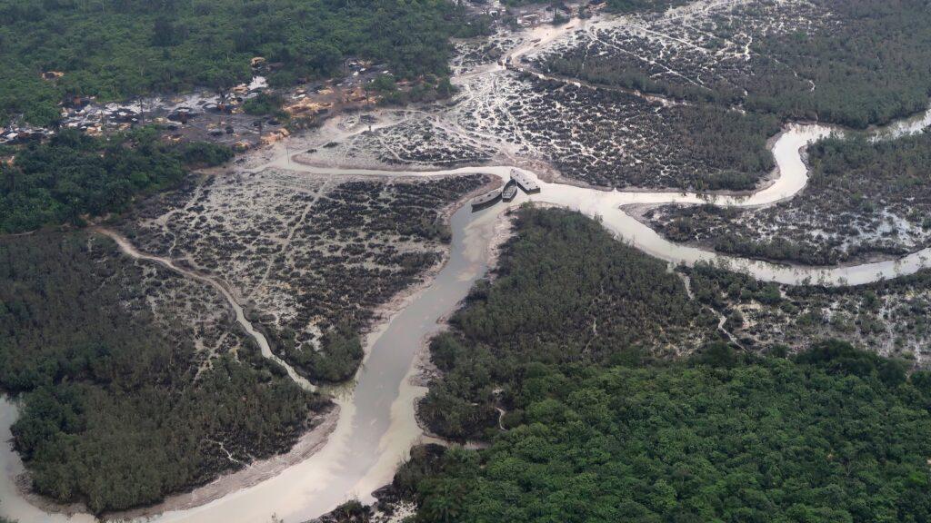 The Niger River Delta - Nigeria