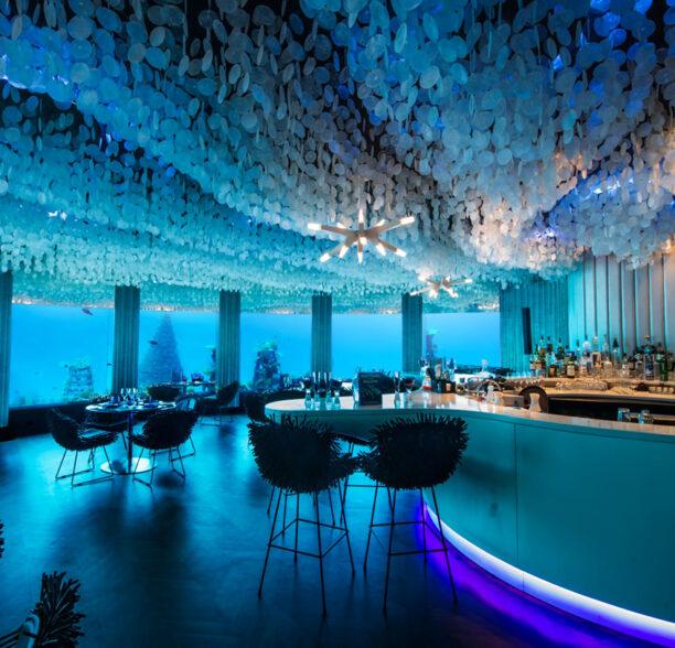 Four popular underwater restaurants in the world